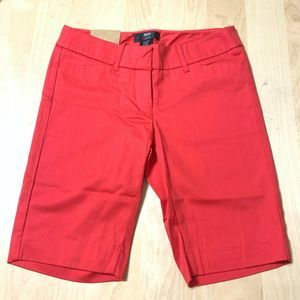 Stretch extensible orange coral shorts 2-NWT